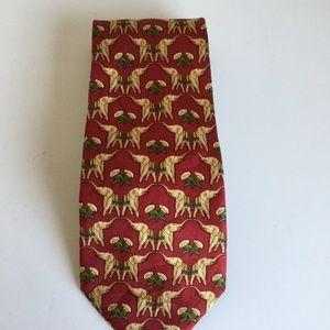brooks brothers elephant necktie